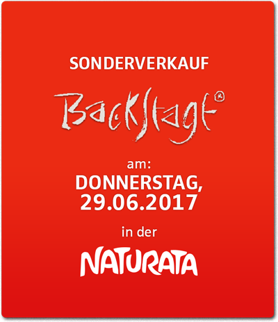 Backstage Sonderverkauf am 29.06.2017
