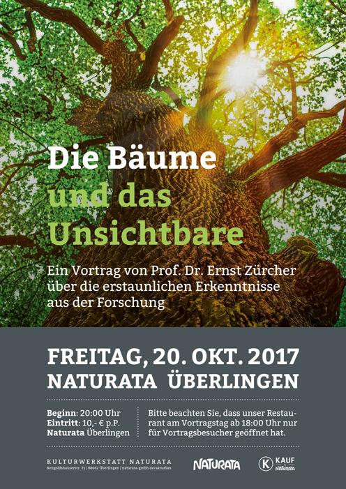 Die Bäume und das Unsichtbare - ein Vortrag von Prof. Dr. Ernst Zürcher