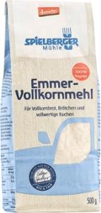Emmer-Vollkornmehl, demeter
