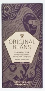 Original Beans Virunga 75% Bio Dunkelschokolade