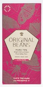 Original Beans Piura 75%  Bio Dunkelschokolade