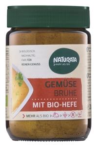 Gemüsebrühe mit Bio-Hefe
