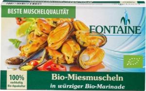 Bio-Miesmuscheln in würziger Bio-Marinade