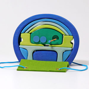 Grimm´s Bauhaus blau-grün
