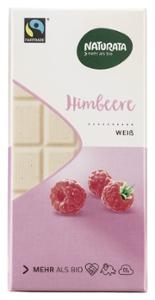 Himbeere, weiße Schokolade