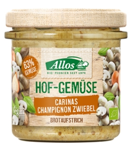 Hof-Gemüse Carinas Champignon Zwiebel