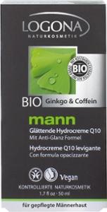 mann Glättende Hydrocreme Q10 Bio-Ginkgo & Bio-Cof
