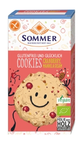 Glutenfrei und Glücklich Cookies Cranberry