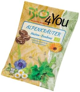 Bio-Bonbon-Alpenkräuter