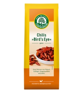 Chilies (Bird´s Eye), ganz