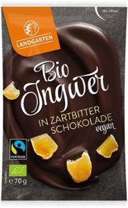 Bio FT Ingwer in Zartbitter-Schokolade