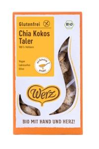 Chia Kokos Taler, glutenfrei