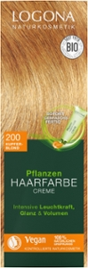 Pflanzen Haarfarbe Creme 200 kupferblond
