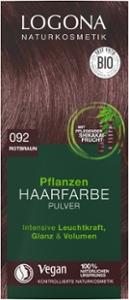 Pflanzen Haarfarbe Pulver 092 rotbraun