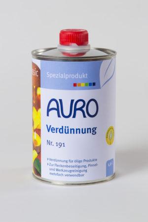 Auro Verdünnung