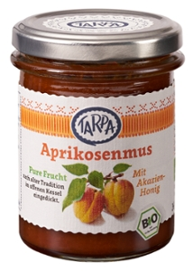 Aprikosenmus  mit Akazienhonig 90%