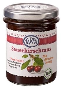Sauerkirschmus mit Akazienhonig 90%