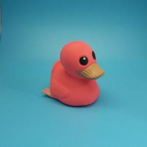 """Hevea®Badespielzeug """"Kawan""""die Ente, pink"""