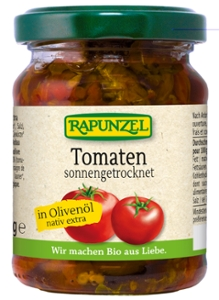 Tomaten getrocknet in Olivenöl, aromatisch-würzi