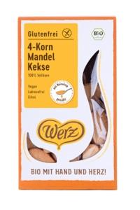 4-Korn Mandel Kekse, glutenfrei