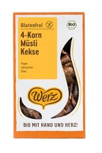 4-Korn-Müsli-Kekse, glutenfrei