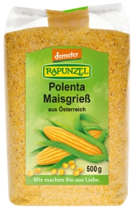 Polenta Maisgrieß, demeter