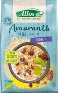 Amaranth Protein Müsli