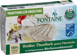Weißer Thunfisch in Bio-Sonnenblumenöl