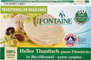 Heller Thunfisch in Bio-Olivenöl