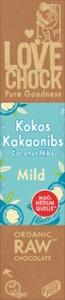 LOV Mild Kokos Kakaonibs 68 %