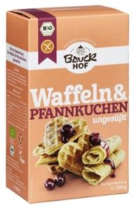 Waffeln & Pfannkuchen glutenfrei Bio