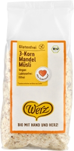 3-Korn Mandel Müsli, glutenfrei