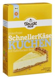 Schneller Käsekuchen glutenfrei Bio