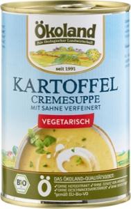 Kartoffel-Cremesuppe vegetarisch
