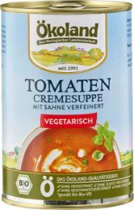 Tomaten-Cremesuppe vegetarisch