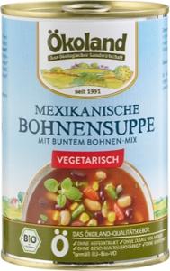 Mexikanische Bohnensuppe vegetarisch