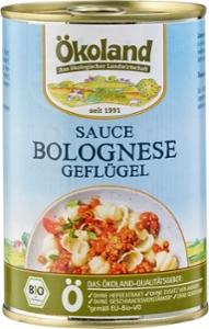 Sauce Bolognese rein Geflügel