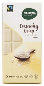 Crunchy Crisp Schokolade, weiß