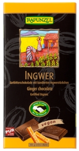 Zartbitter Schokolade Ingwer 55% HIH