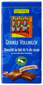Vollmilch Schokolade Dunkel 46% HIH