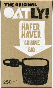 Bio  OATLY Hafer Cuisine