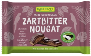 Zartbitter Nougat Schokolade HIH