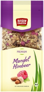 Mandel-Himbeer Müsli