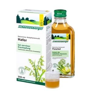 Hafer, Naturreiner Heilpflanzensaft bio
