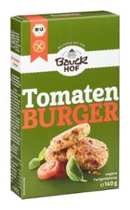 Tomaten Burger mit Basilikum glutenfrei Bio