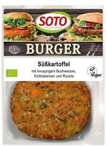 Süßkartoffel-Burger 2St
