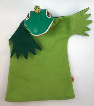 Handpuppe Frosch von Eri-Spiel