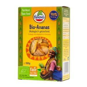 Bio-Ananas getrocknet bio & fair Tansania