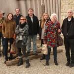 Einige Mitglieder des Naturata-Vereins zu Besuch in Luxemburg