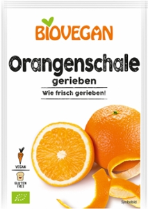 Orangenschale gerieben, BIO